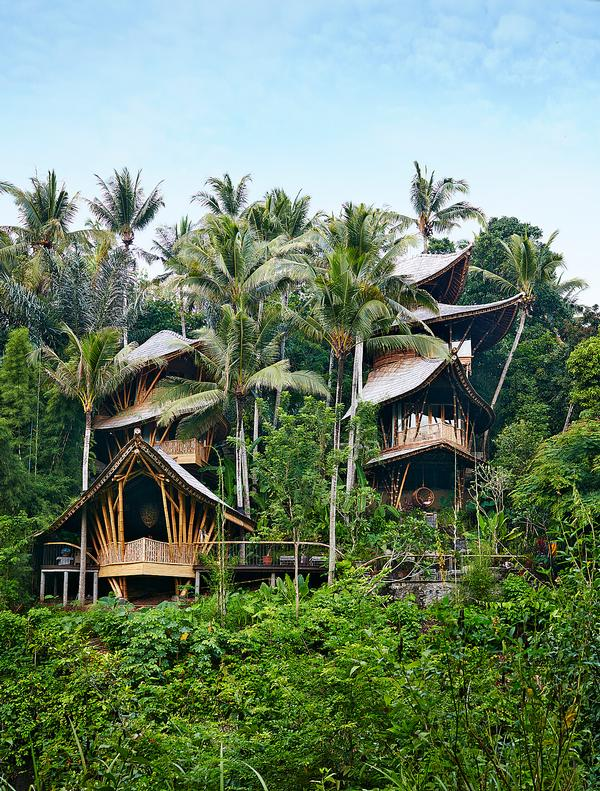 Ananda House was built by Ibuku as part of the pioneering Green Village on Bali / Photo by Stephen Johnson