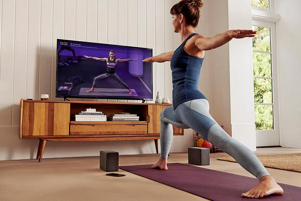 With Amazon Fire TV, members can work out in front of the largest screen in their house
