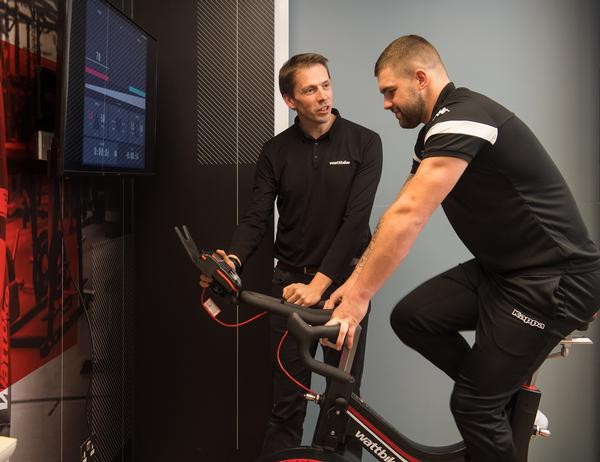 The Wattbike test sets the parameters for improvements to fitness and performance