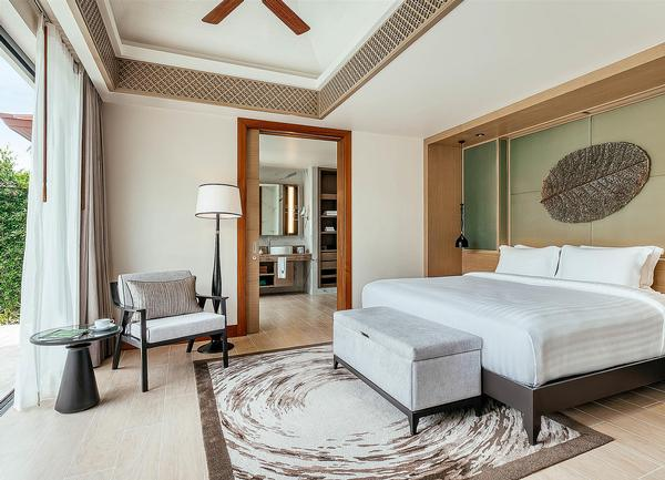 Wellbeing Sanctuary villas are 15-30 per cent more expensive but are the strongest selling room category in Phuket