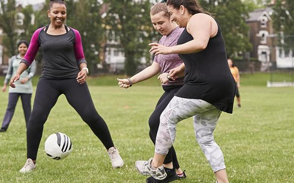 The initiative looks to promote physical activity through free football sessions to people of all ages and backgrounds
