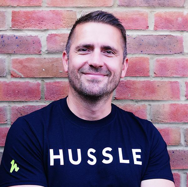 'We're creating a new joiner channel for gyms' - Jamie Owens / PHOTO: hussle