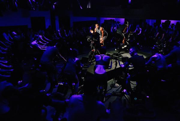 Peloton allows members to connect with a community, without leaving the house