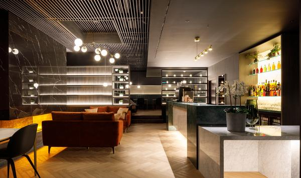 The all-day lounge bar, with resident mixologist, creates a club feel at Eden One