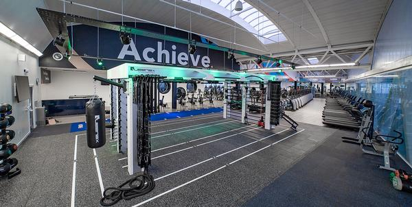 Members at Aberdeen Sports Village can digitally track their workouts across all equipment
