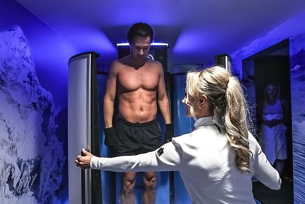 Cryotherapy in the Stasis suite
