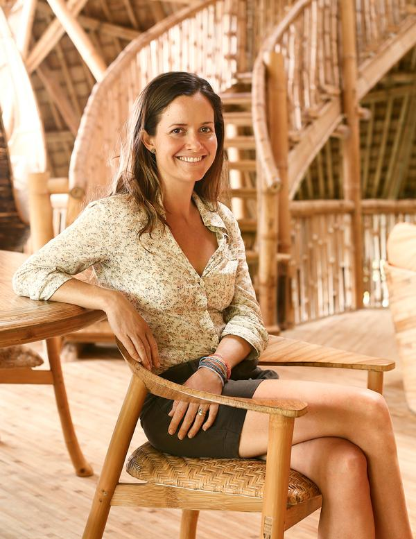 Hardy worked for Donna Karan in New York before returning to Bali to launch Ibuku in 2010 / Photo by Manuel Gomes da Costa