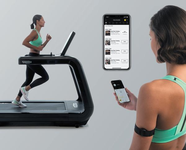 The Mywellness app enables members to pre-book gym workouts