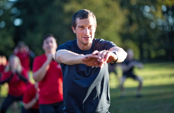 "Bear Grylls: ""For me, it's all about sharing the positivity of all those involved with BMF with as many people as I can"""