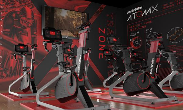 With the software, each rider's details are recognised automatically to personalise the bike's resistance