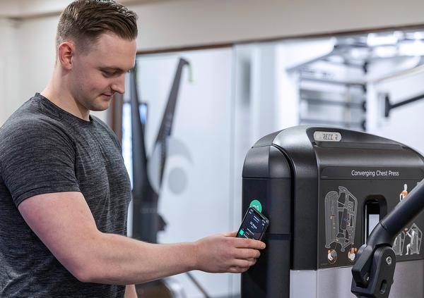 The technology allows users to automatically track their strength workouts