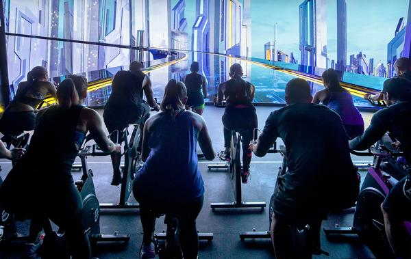 / Photo: Les Mills The Trip/stages indoor cycling