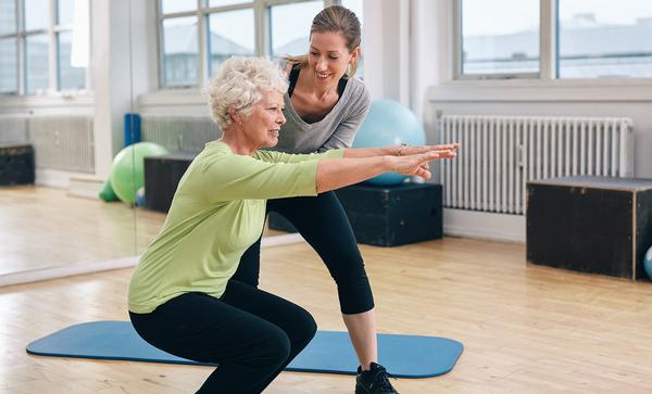 The new diploma enables exercise professionals to support people with long-term health conditions / Jacob Lund/shutterstock
