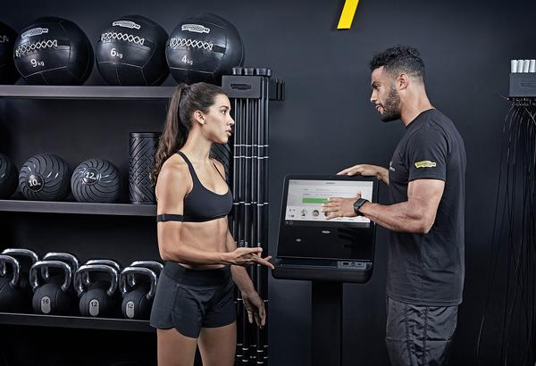 Coaches can use Technogym Mywellness to set programmes, record results and motivate members