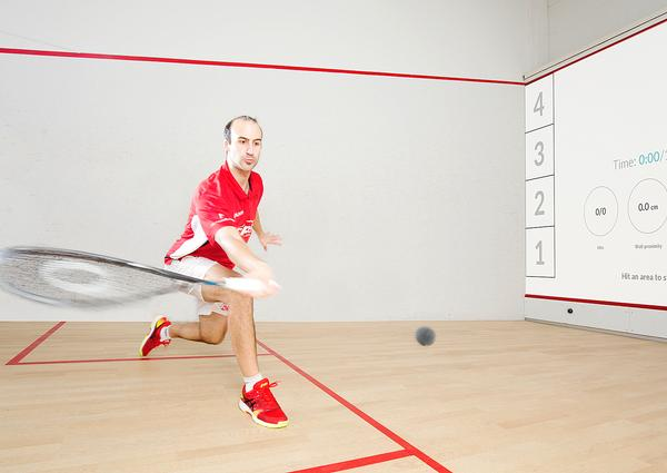 Interactive SQUASH is increasing play time.
