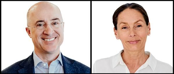 SHL managing director Sanne Wall-Gremstrup (right) and Perkins+Will CEO Phil Harrison