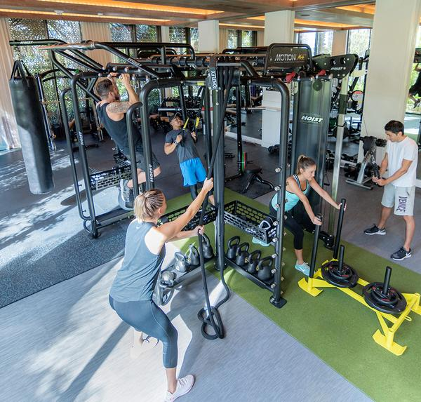 Pasternak designs gyms and workout protocols for Four Seasons Hotels & Resorts / PHOTO: FOUR SEASONS HOTELS & RESORTS