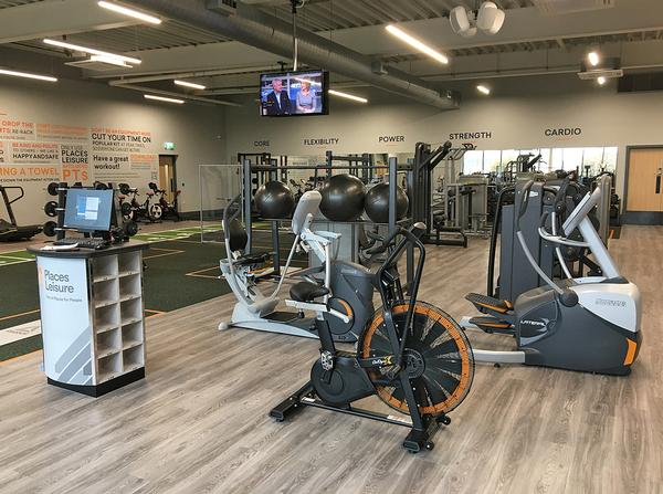 Octane Fitness products have been installed throughout
