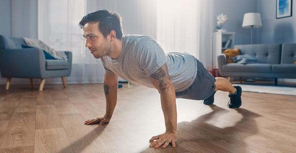 It's now more important to have a competitive advantage in your home fitness offering than in your club offering, says Bowman / Gorodenkoff/shutterstock