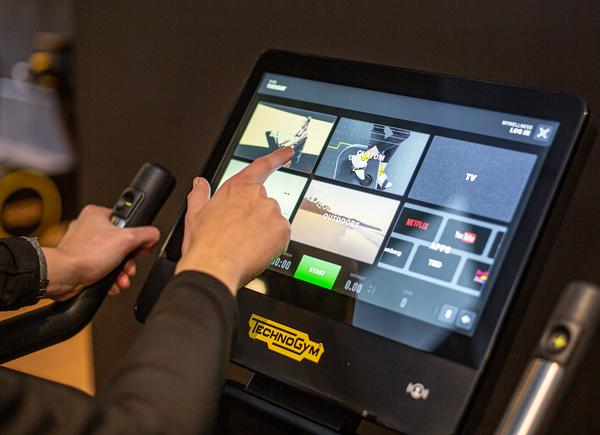 Excite Live allows users to personalise their training, as well as accessing a complete range of content / PHOTO: TECHNOGYM