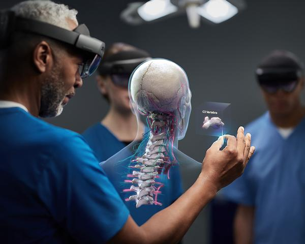 Augmented reality layers virtual images onto the physical environments