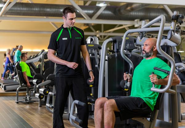 If someone is having emotional wellbeing therapy with Nuffield, they get a month's free gym membership