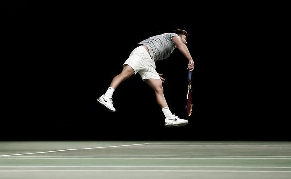 Photos were taken during the World Tennis Tour at the Shrewsbury Club