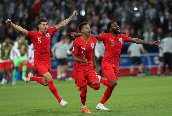 The England team made it all the way to the semi-finals at the 2018 World Cup and created a buzz around the country / shutterstock