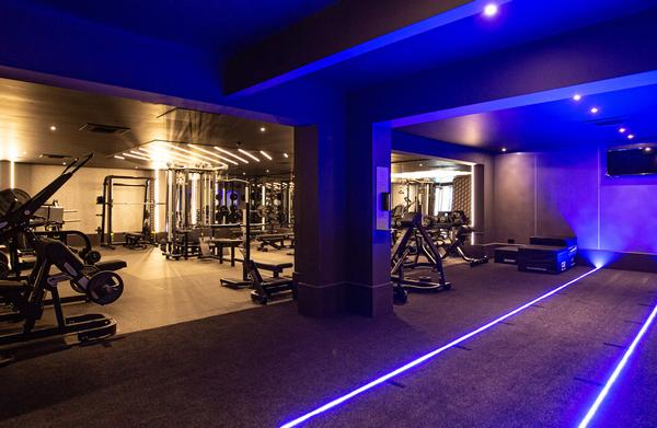 The gym is now divided into zones for functional fitness, strength and conditioning and stretching / PHOTO: TECHNOGYM