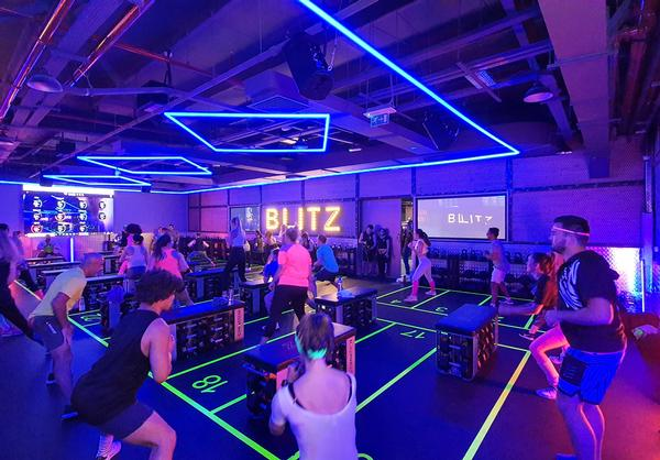 Blitz, GymNation's own-brand HIIT workout, will be in all clubs moving forward and has a separate membership