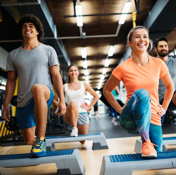With a range of classes to choose from, group exercise provides an accessible activity for those looking to start a regular exercise routine / Photo: SHUTTERSTOCK/ ND3000