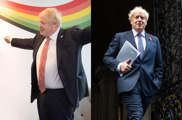 Boris Johnson has benefitted from the fitness industry / photos: PA