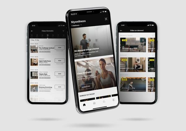 Mywellness now has live and on-demand classes