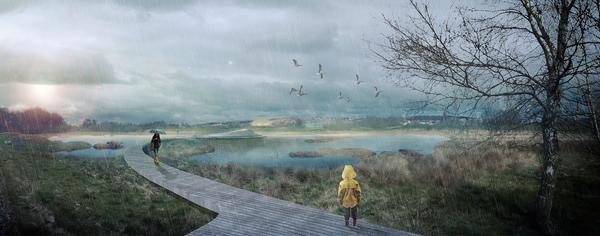 CF Møller's Storkeengen climate adaption project will see the creation of a new public nature park