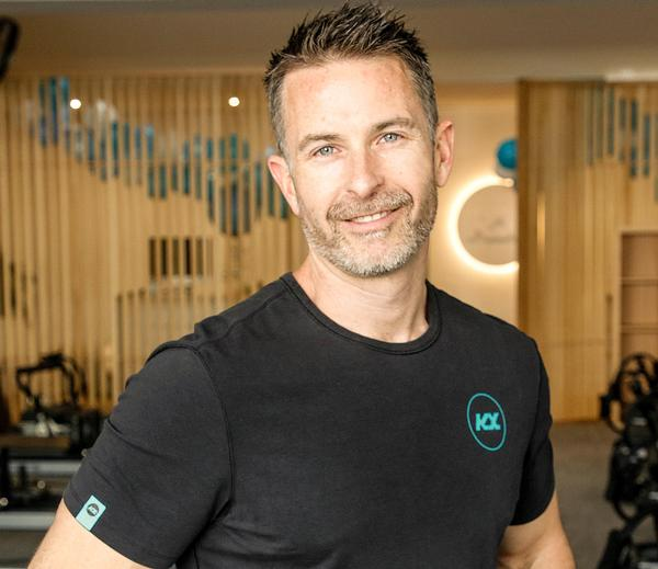 Aaron Smith founded KX Pilates in Melbourne, Australia after experiencing dynamic pilates in London
