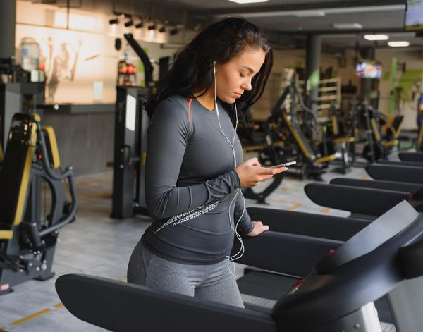 Removing the need for small talk at the gym can make introverts feel more comfortable / PHOTO: Shutterstock/ Hryshchyshen Serhii
