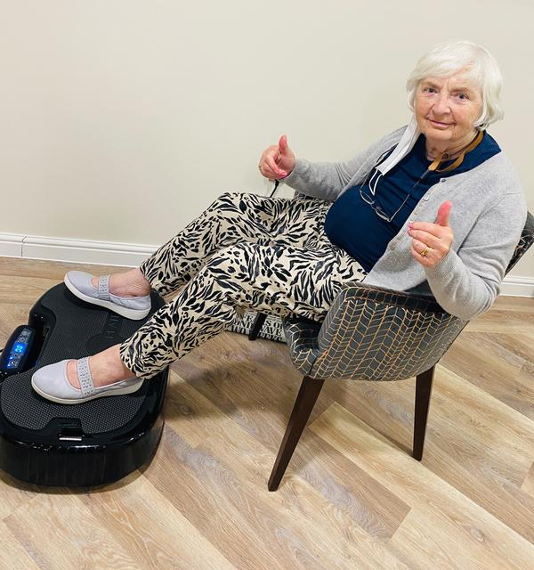 Berkley Care Group residents are engaging in regular exercise / Berkeley Homes/PowerPlate