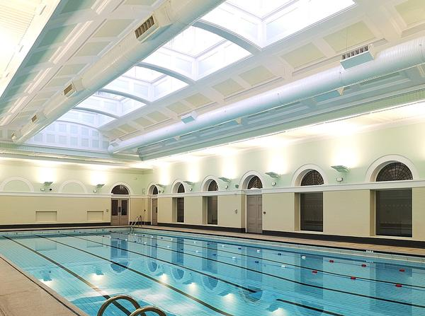The iconic City Baths in Newcastle