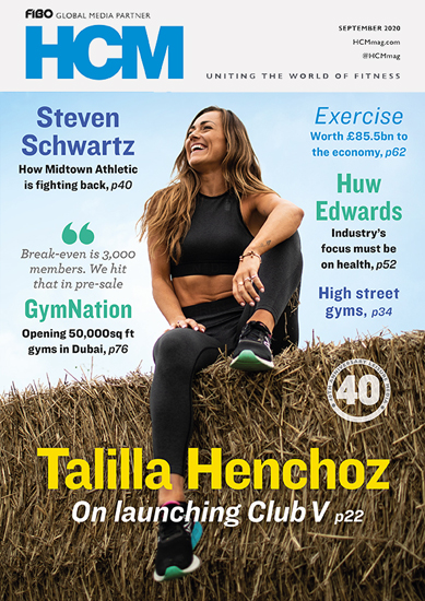 Health Club Management magazine 2020 issue 8