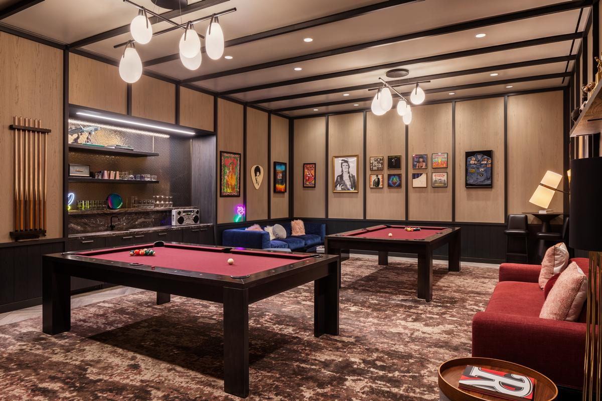 There will also be a billiards room