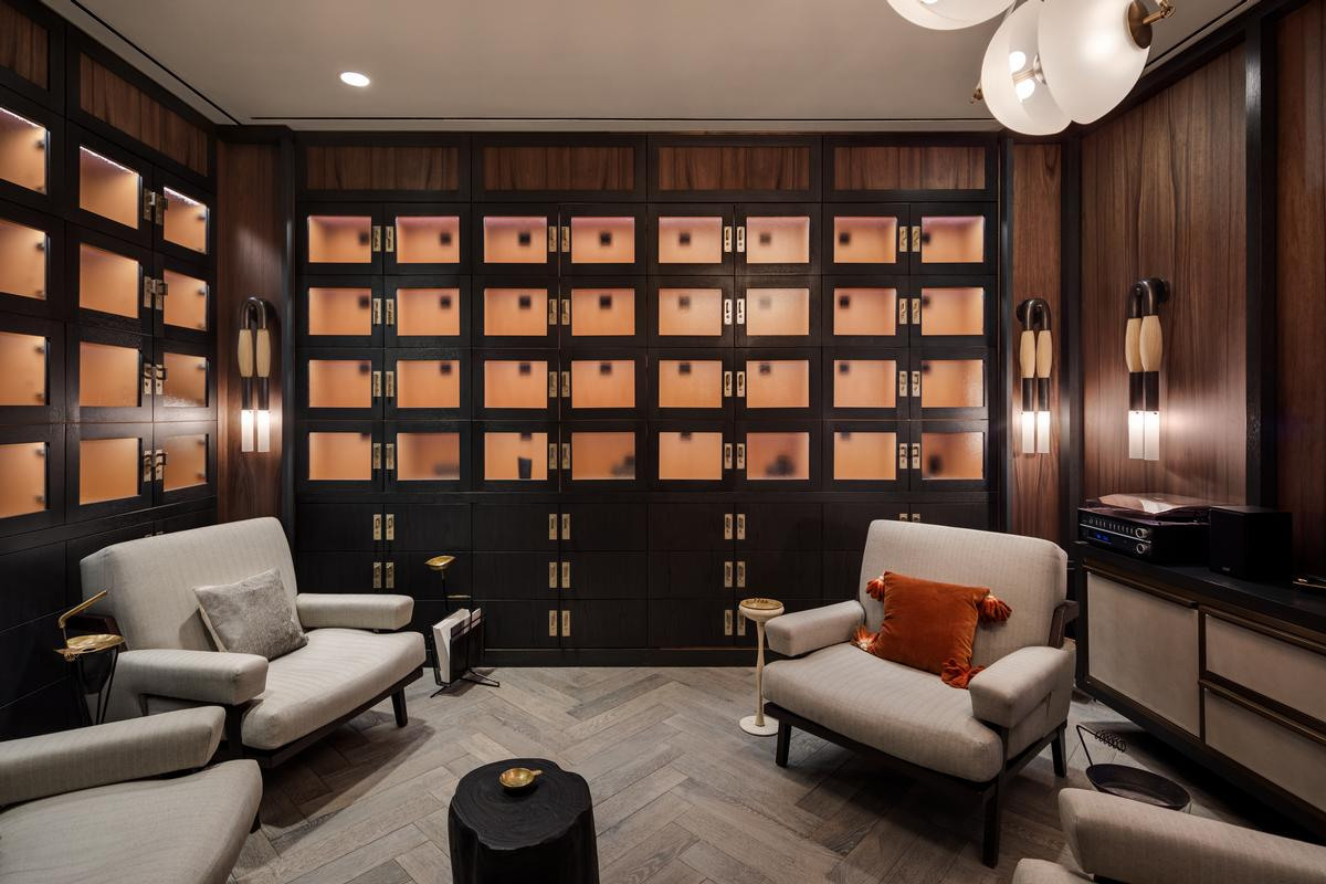 Among the lounges on offer will be a cigar lounge