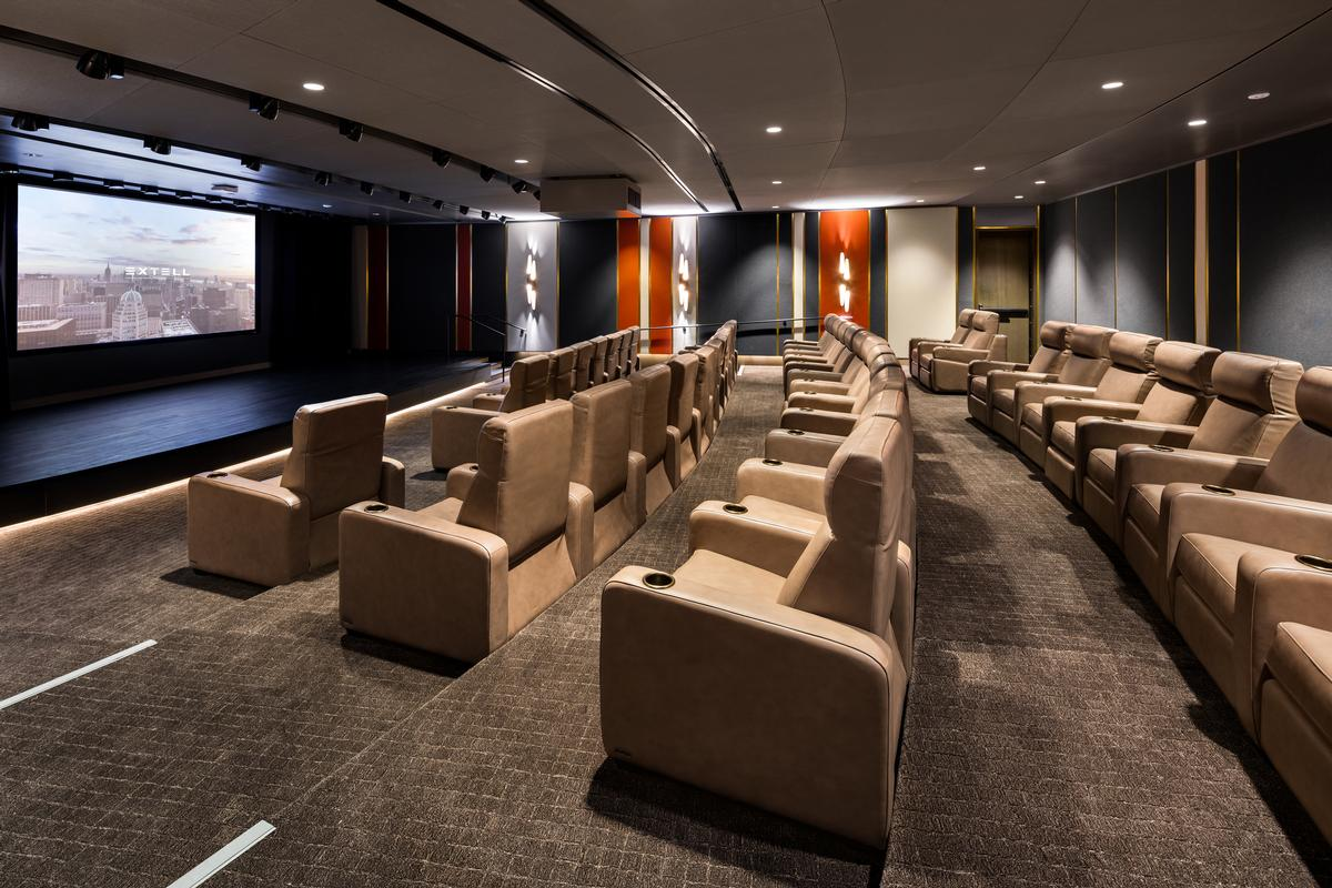 There will be a cinema for movie screenings