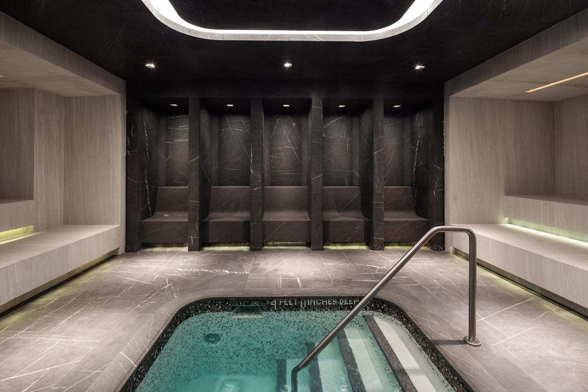 Among the wellness facilities will be a cold plunge pool
