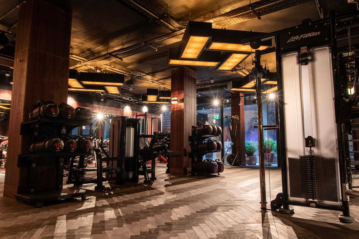 The gym has a 'nightclub quality' sound system / Jason Ennis – Press Up Entertainment Group