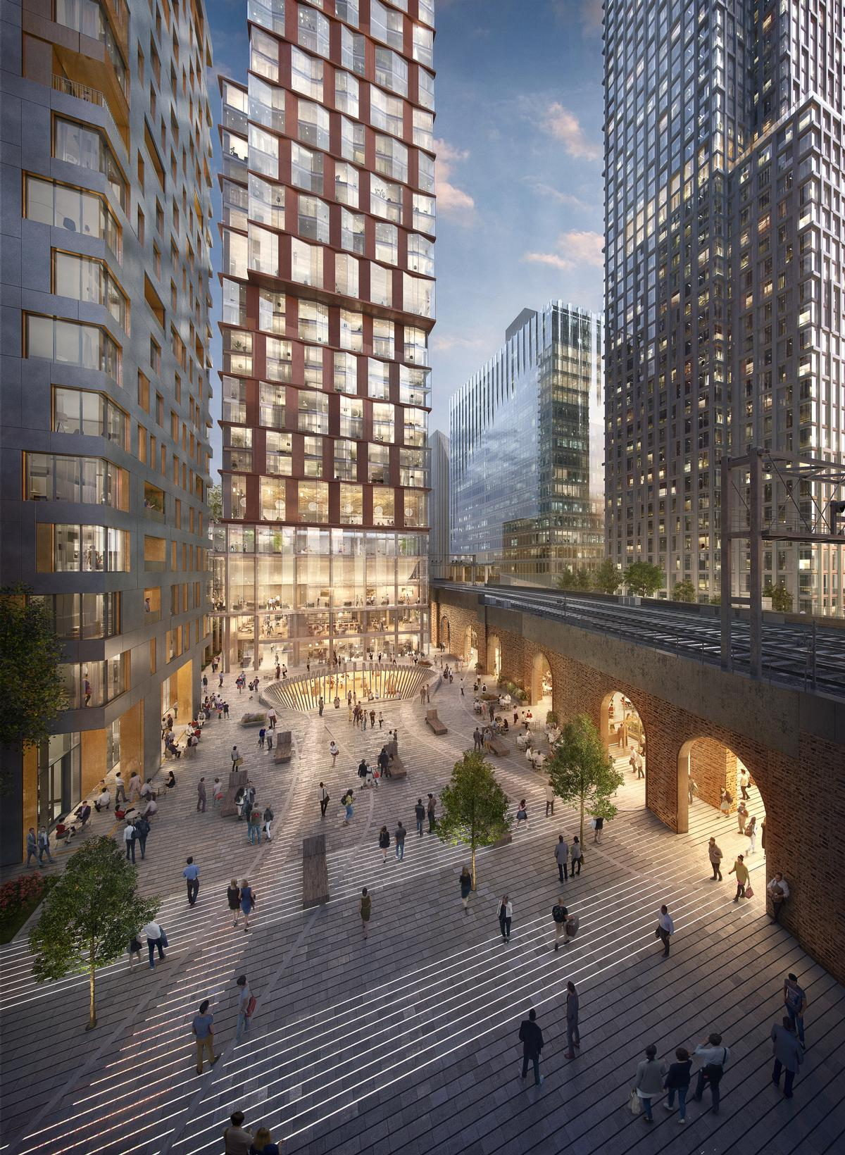 It will be based around a historic railway viaduct and will transform the structure to make use of its arches as retail, restaurant and cultural units