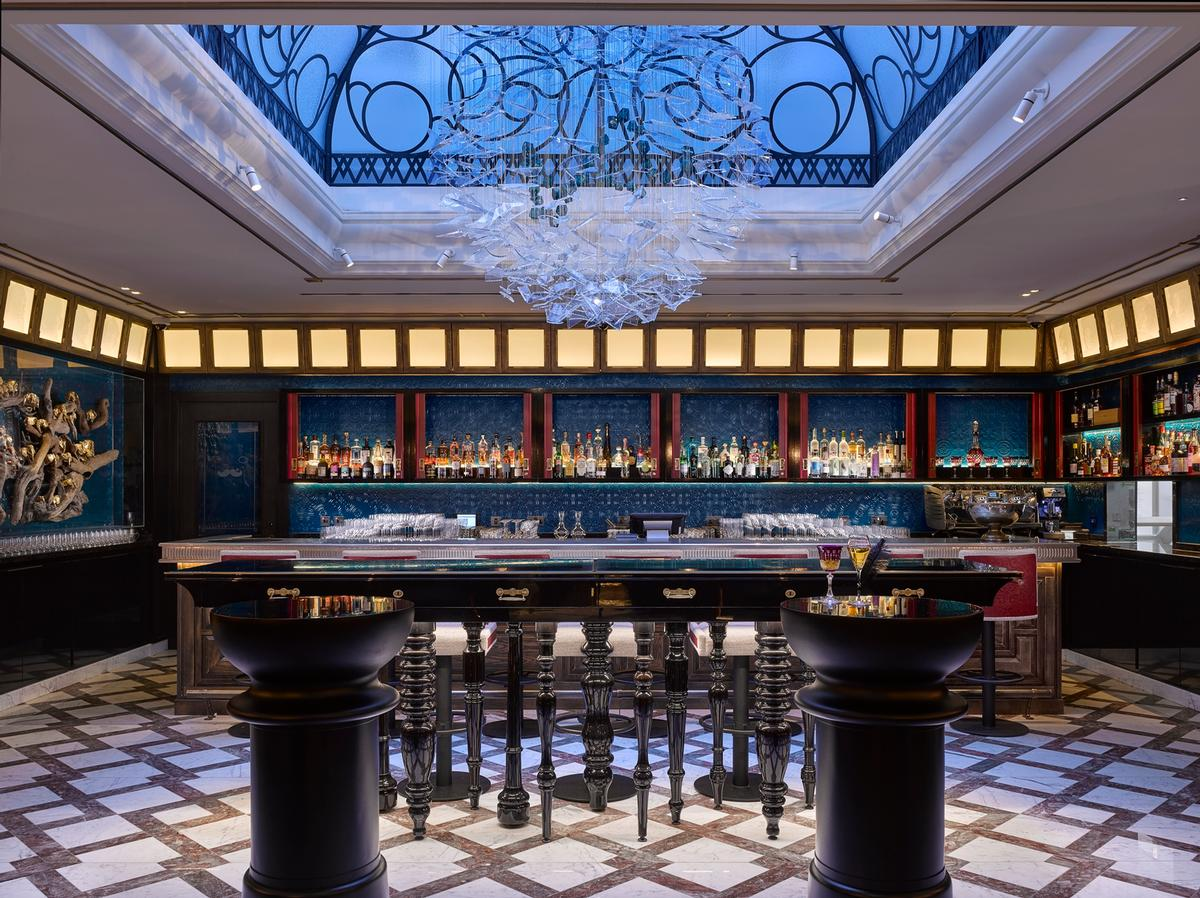 Social venues include a parlour, a bar, a restaurant and a club room / Will Pryce