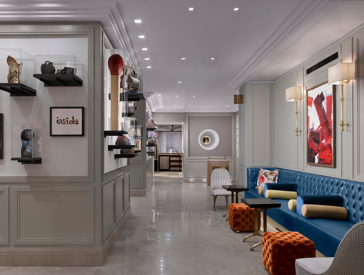 HBA used bursts of colour and contemporary details to animate the hotel / Will Pryce
