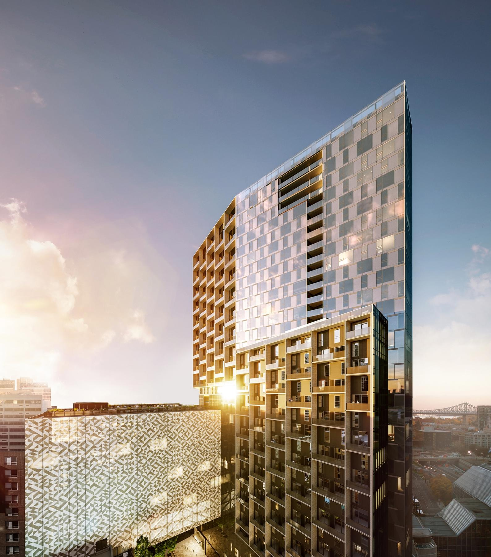 It will house apartments, a hotel, offices, retail units and commercial space / Humaniti