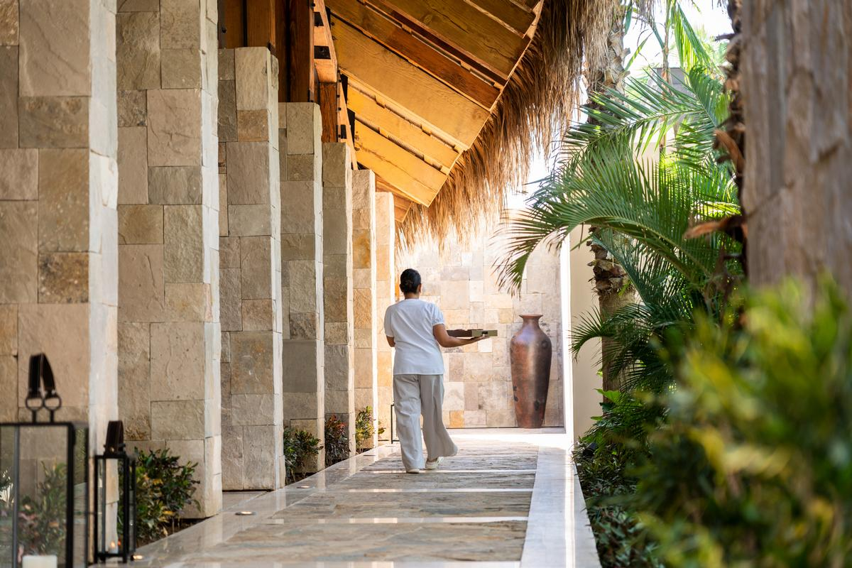 Spa Alkemia has both private relaxation rooms and communal spaces