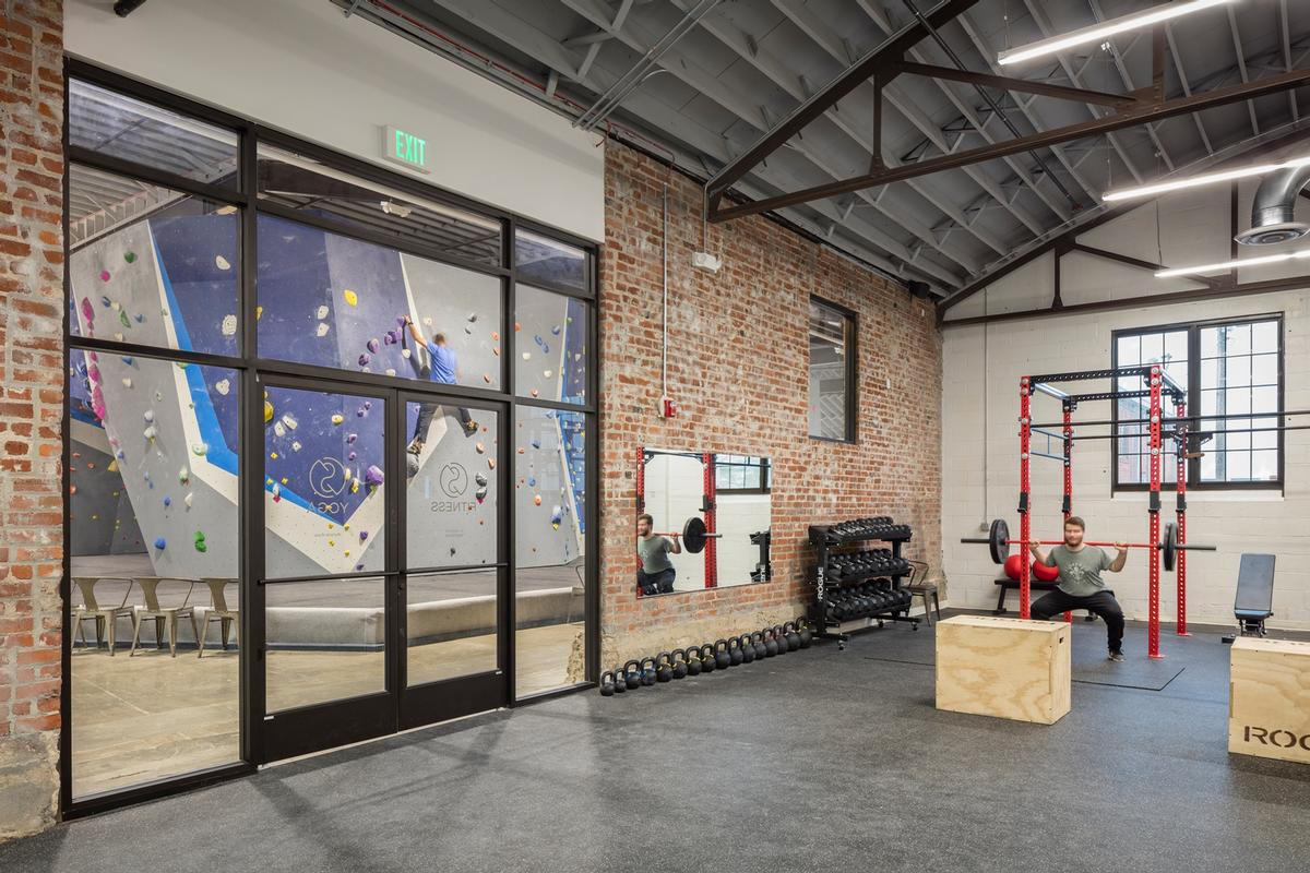 The gym features a variety of other facilities / Bob Greenspan Photography